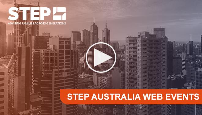 STEP Australia Web Events